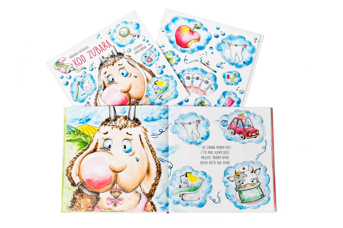 Bilderbücher mit Illustrationen von Lana Hudina
