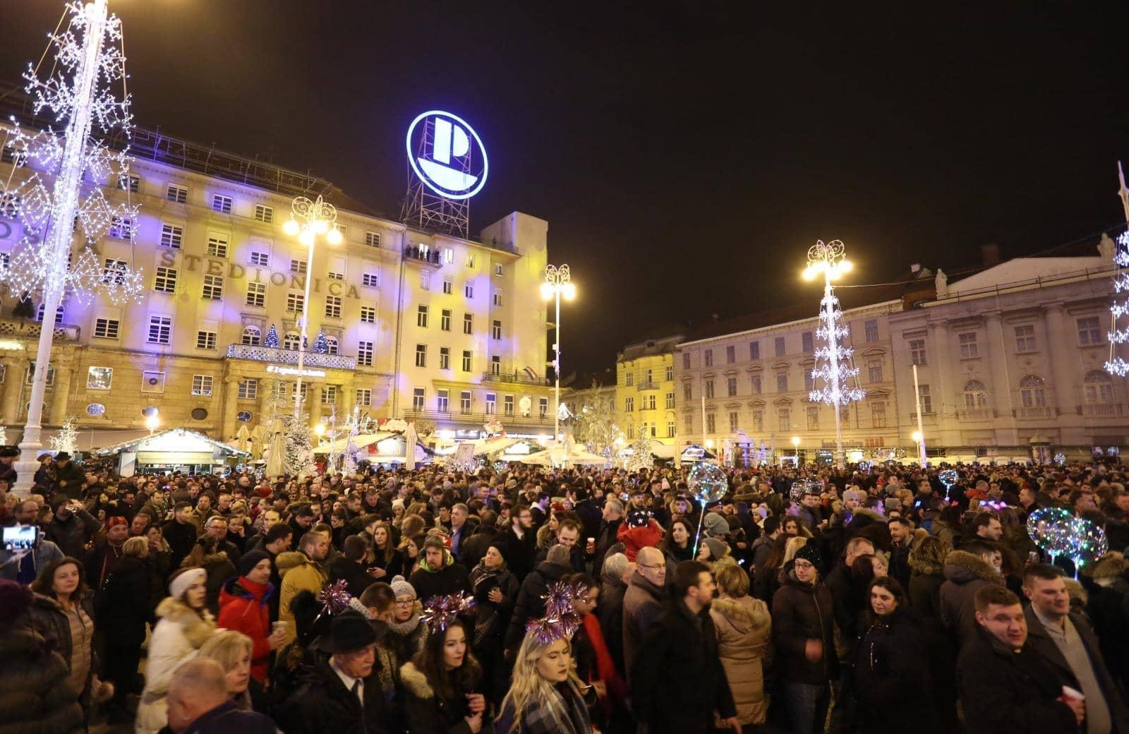 Silvester in Zagreb (Foto: Matija Habljak/PIXSELL)