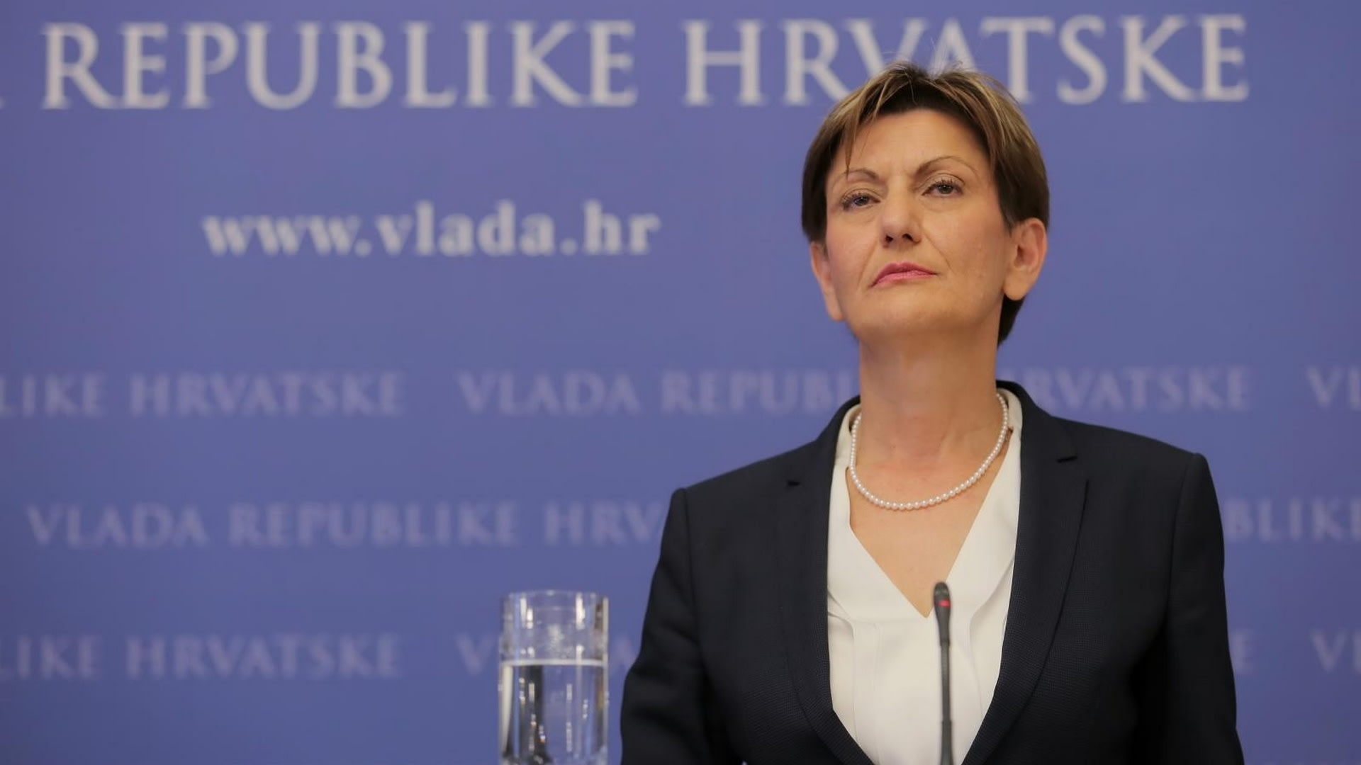 La vice presidente del Gobierno Martina Dalic. (Foto: Tomislav Miletic/PIXSELL)