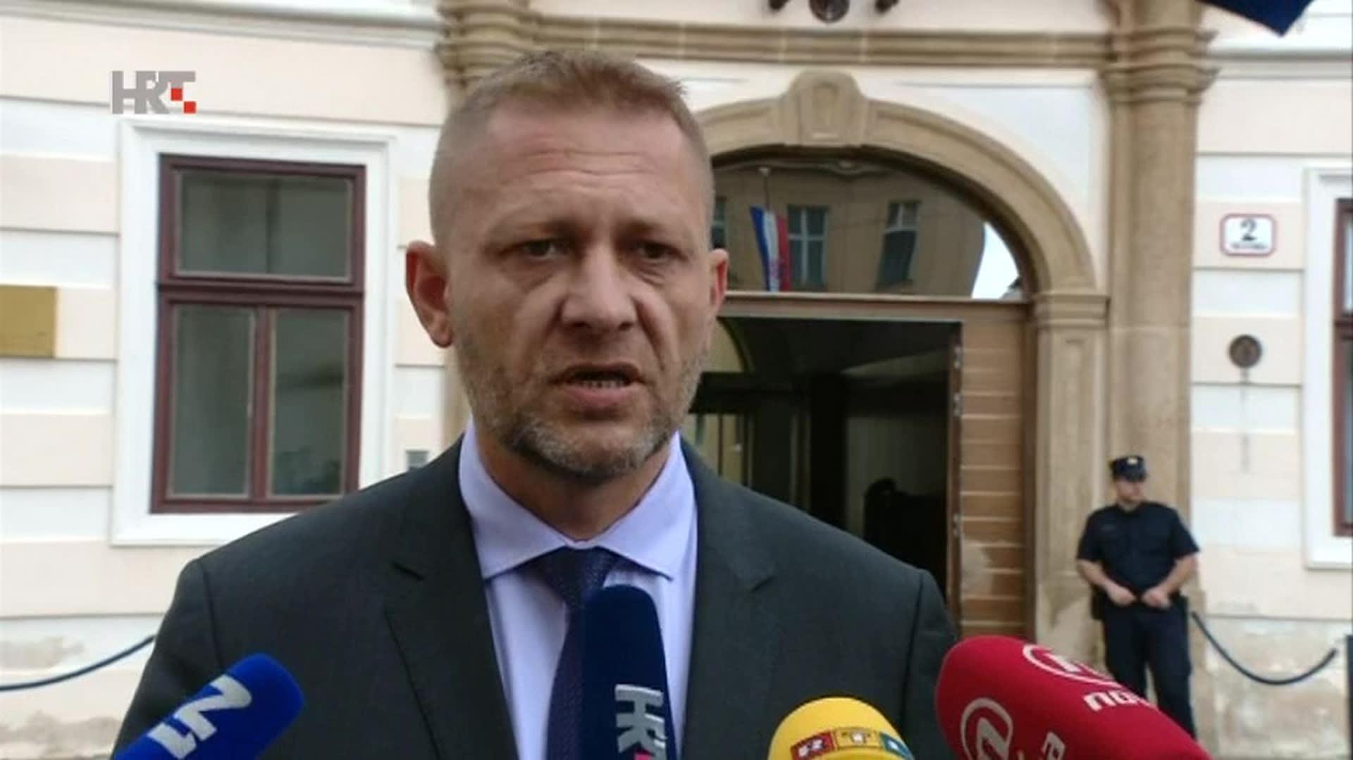 Krešo Beljak del HSS. (Foto: HRT.hr)