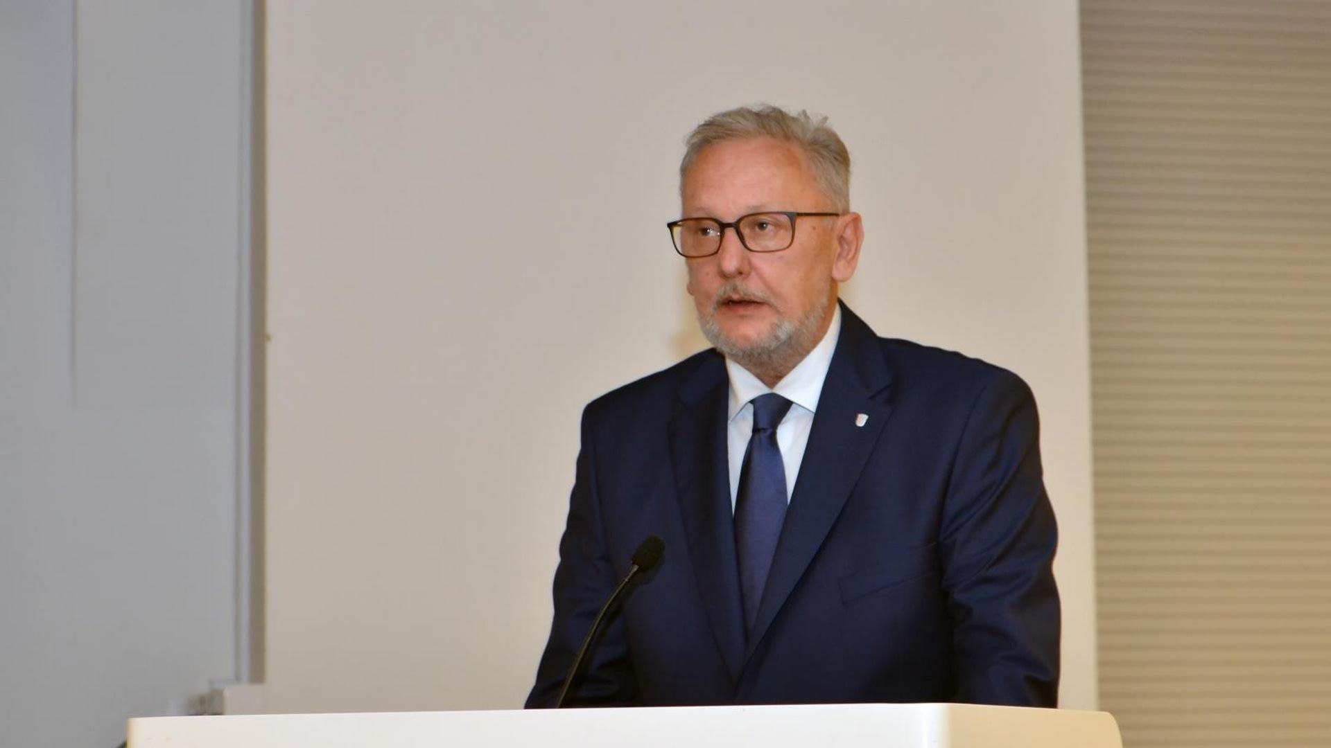 Ministro del Interior Davor Božinović. (Foto: Duško Marušić/PIXSELL)