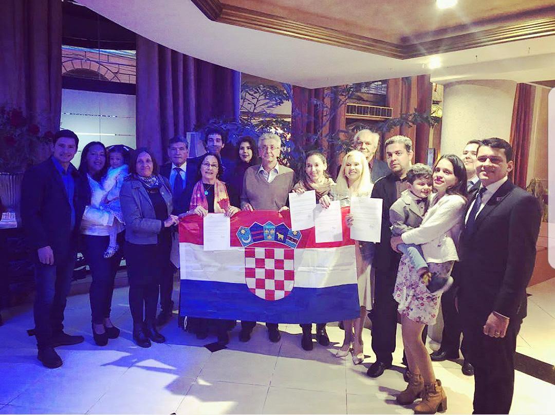 Croatas en Paraguay /Foto: archivo asociación)