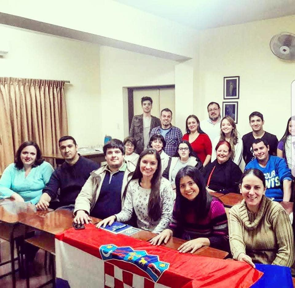 Curso de croata en Asunción (Foto: archivo asociación)