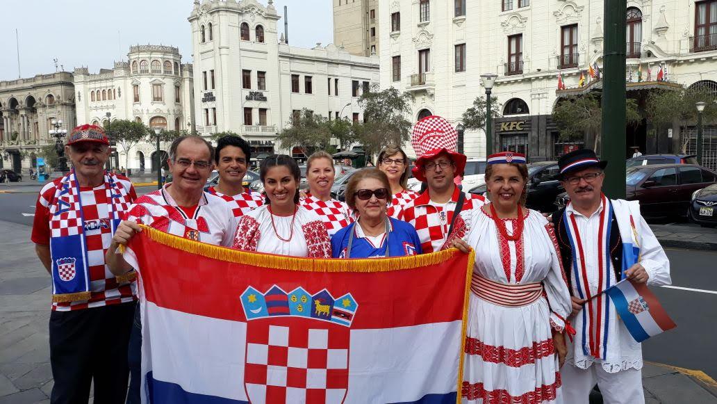Croatas en Lima