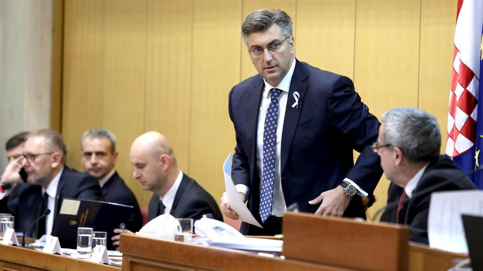 El Primer Ministro Andrej Plenković. (Foto: Patrik Macek/PIXSELL)