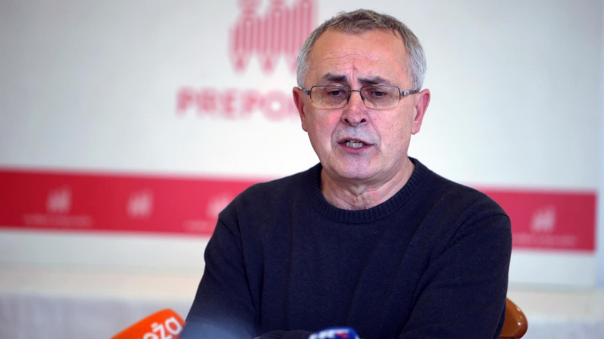Sindicalista Željko Stipić de Preporod. (Foto: Ivo Cagalj/PIXSELL)