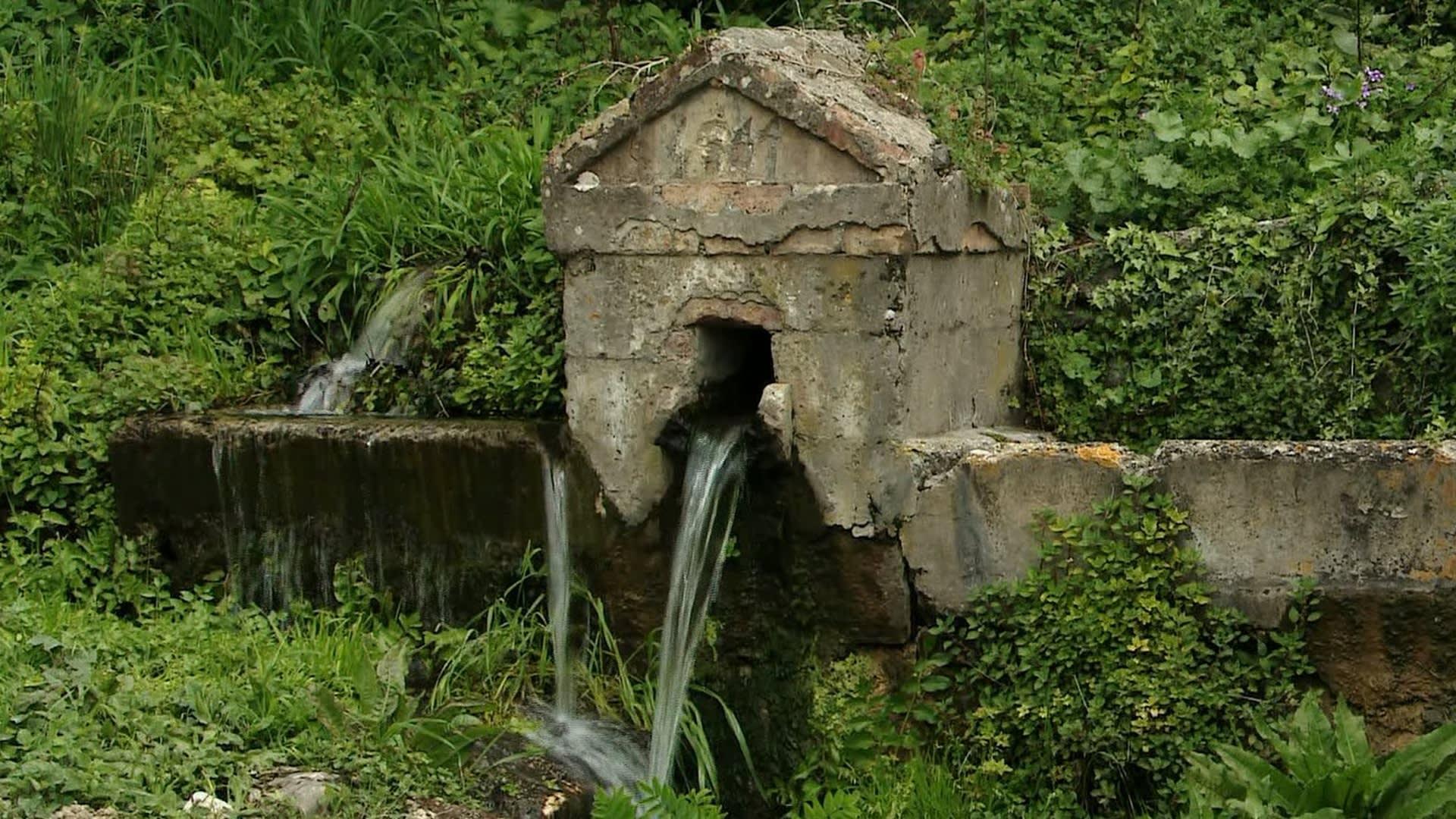 Detalle del sistema de irrigación de aguas en Konavle. (Foto: T.Rau)