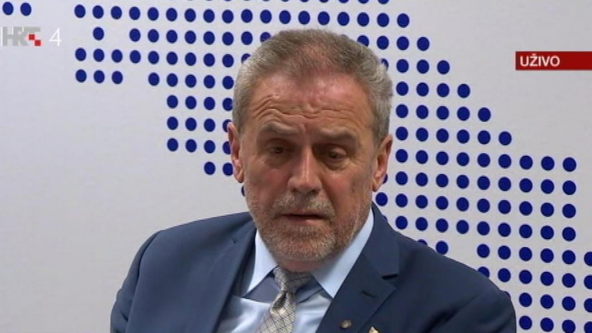 Milan Bandić alcalde de Zagreb. (Foto HRT.hr)