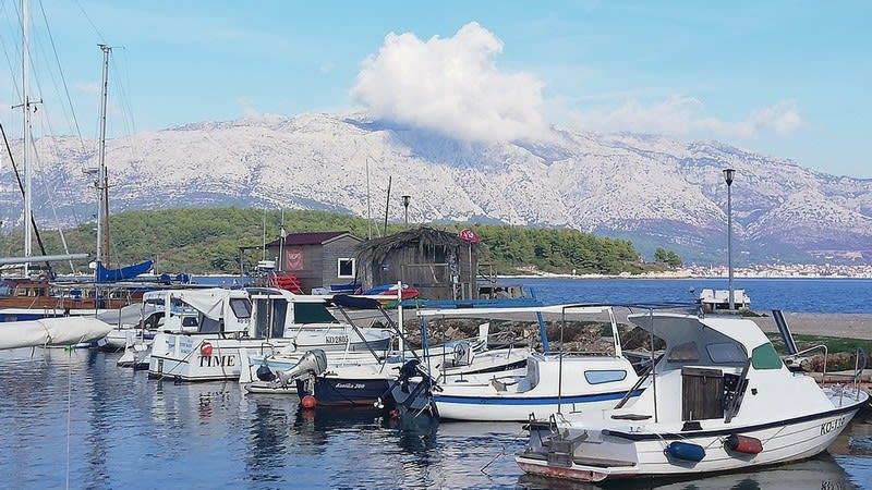 The Lumbarda marina (Photo: Tanja Rau)