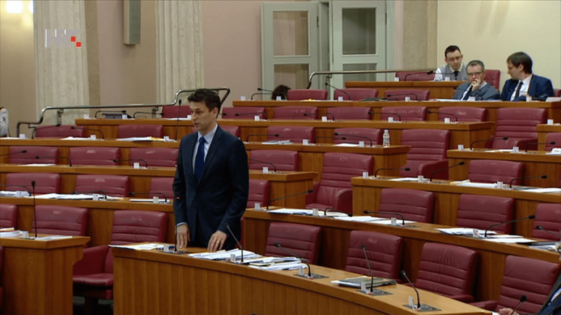 Božo Petrov presidente de Most.(Foto: HRT.hr)