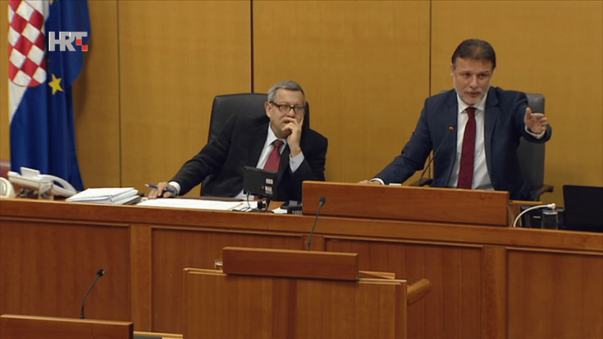 Gordan Jandroković Presidente del Parlamento. (Foto: HRT.hr)