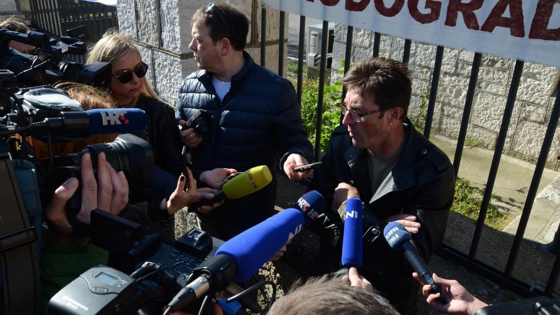Boris Cerovac Presidente del sindicato Jadran. (Foto: Dusko Marusic/PIXSELL)