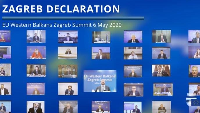 Zagreb Declaration Adopted At Western Balkans Summit