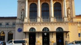 Erste Station: der Zagreber Hauptbahnhof