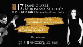 17. Dani glazbe Miroslava Miletića u Sisku