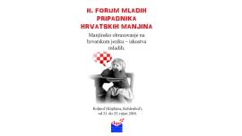 Hrvatima izvan domovine - 2.sat(20.9.2018.)