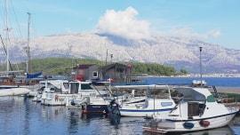 Das Dorf Lubarda auf der Insel Korčula