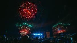 """The """"Svi zaJEDNO HRVATSKO NAJ"""" festival in Vukovar."""