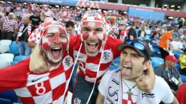 Fotoausstellung über die kroatische Fußballnationalmannschaft in Mostar