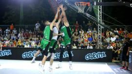 3-on-3 Challenger street-ball tournament in Lipik