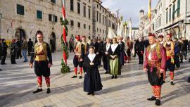 Hrvatski stil: Baština DU - Festa sv. Vlaha