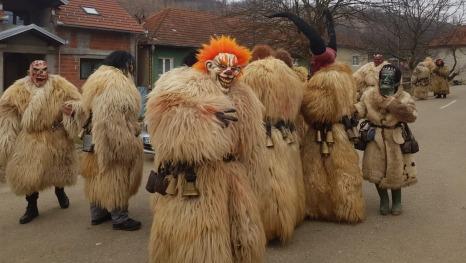 Poklade u selu Vodnik u Rumunjskoj