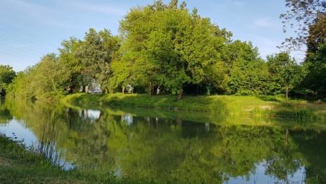 Skriveno zagrebačko jezerce (Foto: Ivana Šimić Pehar)