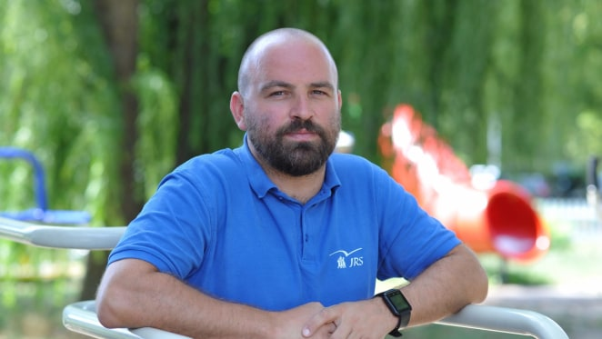 Tvrtko Barun, voditelj Isusovačkog centra za izbjeglice