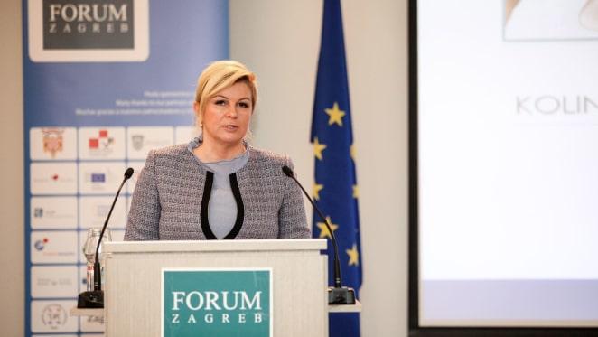Discurso de la presidente Kolinda Grabar Kitarović