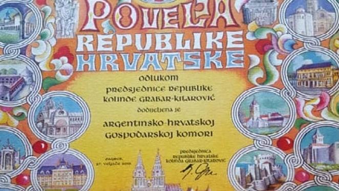 Krešimir Jerković - priznanje Predsjednice