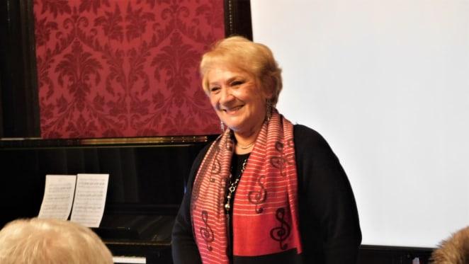 Dr. Zdenka Weber o predavanju u hrvatskome veleposlanstvu u Beču