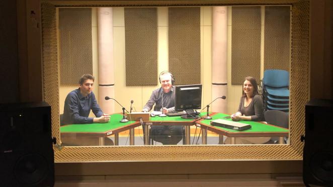 Luka Košćak, glavni organizator i Sara Stoček, odnosi s javnošću studentske udruge BEST Zagreb