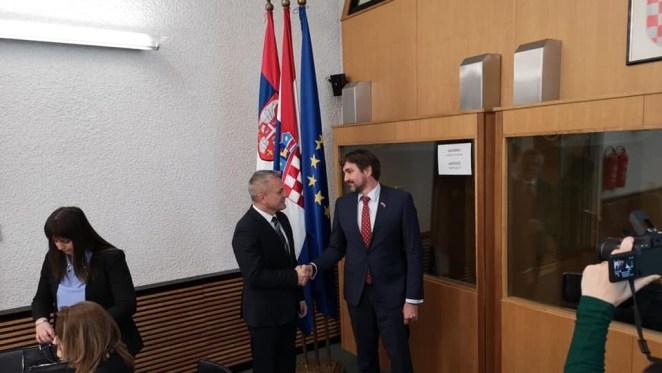 Zvonko Milas i Ivan Bošnjak (novinarka Slavica Štefić)