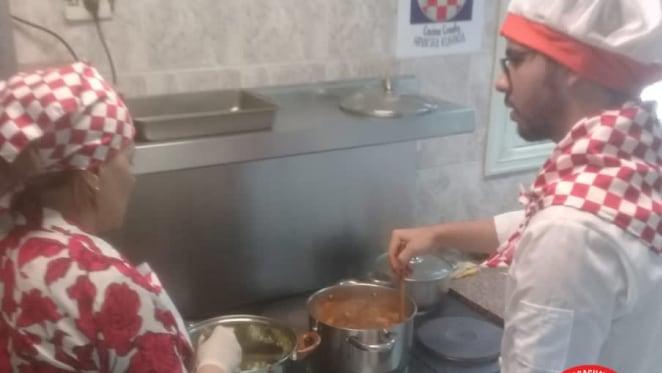 Cocina croata en Asunción