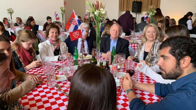 Día de Croacia en Santiago