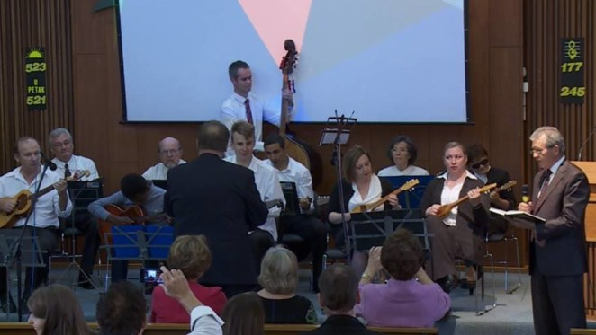 Hrvatske tambure u Australiji - Orkestar Hrvatske adventističke crlkve St Albans u Melbourneu (Foto: Glas Hrvatske/Damir Posavac)