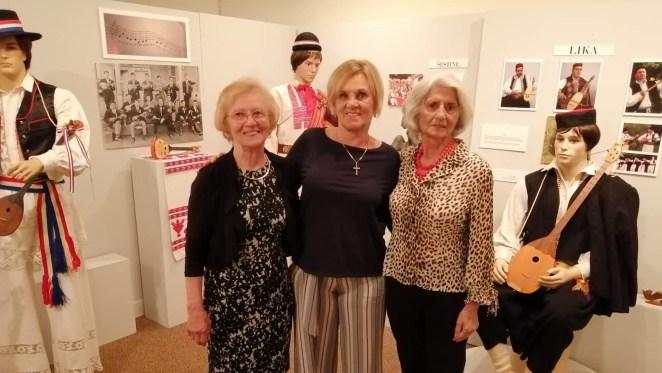 Volonterke Muzeja hrvatske baštine u Clevelandu