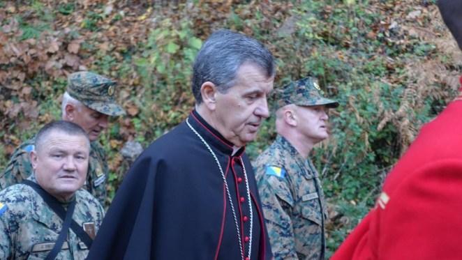 Mons. Tomo Vukšić, vojni biskup u BiH