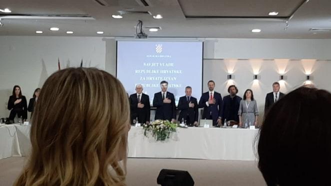 Miljana Glamuzina, članica savjeta Vlade RH za Hrvate izvan RH, predstavnica Hrvata iz BiH (novinarka Maja Raguž)