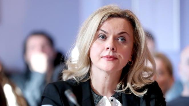 Europarlamentarka Željana Zovko (novinarka Ivana Perkovac)