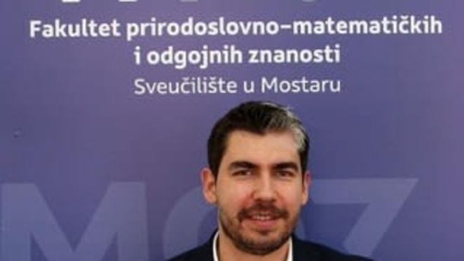 Prof. Tomislav Volarić sa Sveučilišta u Mostaru