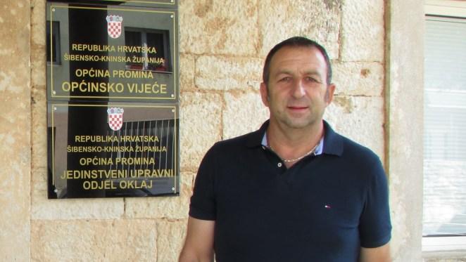 Načelnik Općine Promina Tihomir Budanko