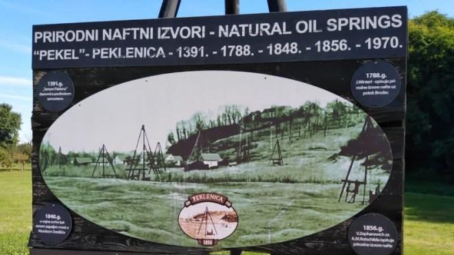 Izvor nafte u Peklenici