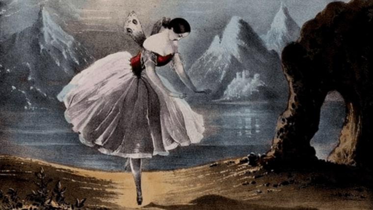 Interpretacija vilinskog plesa Carlotte Grisi bila je uzor plesačima njezina vremena (Foto: wikimedia commons)