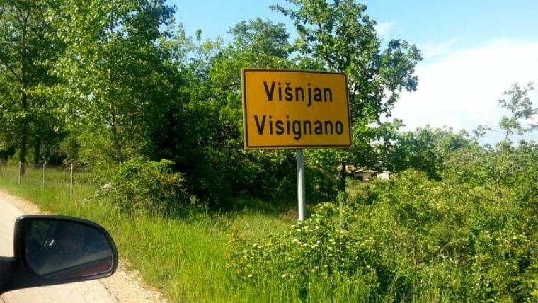 Auf den Weg zur Ortschaft Višnjan (Foto: Ivana Perkovac/Glas Hrvatske)