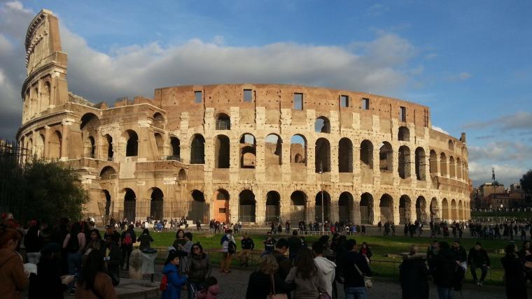 Razgledavanje Rima u društvu tamošnjih Hrvata (Foto: Ivana Perkovac/Glas Hrvatske)