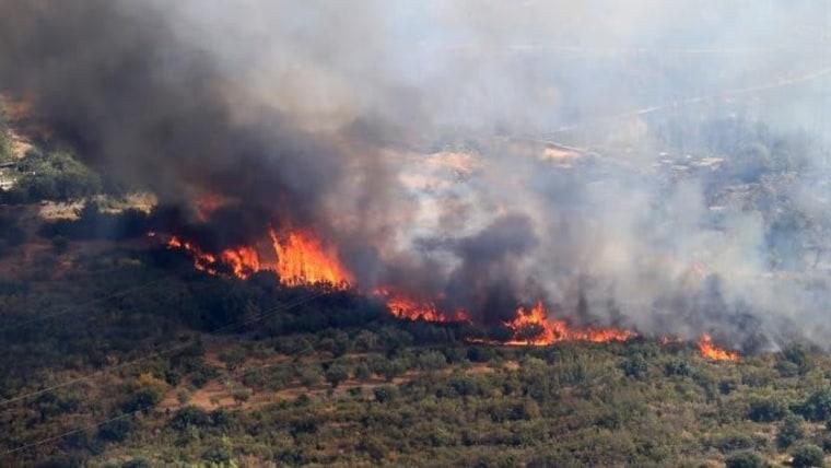 Waldbrand in Kroatien (Foto: IC/Pixsell)