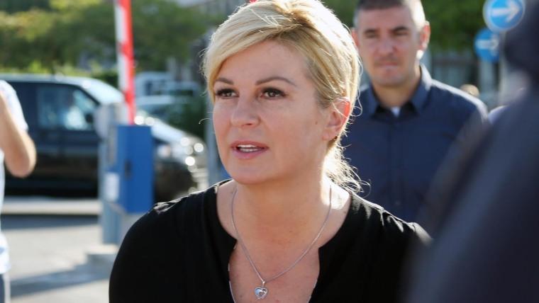 Die kroatische Präsidentin Kolinda Grabar Kitarović (Foto:  Dusko Jaramaz_PIXSELL)