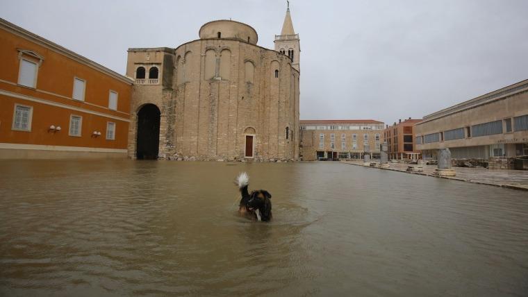 Zadar unter Wasser (Foto Filip Brala PIXSELL)