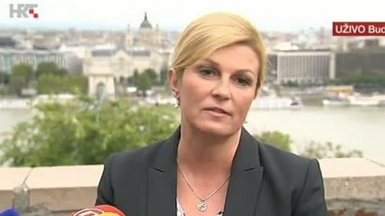 Kolinda Grabar - Kitarović, Foto: HRT